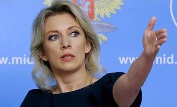 Захарова рассказала анекдот на тему