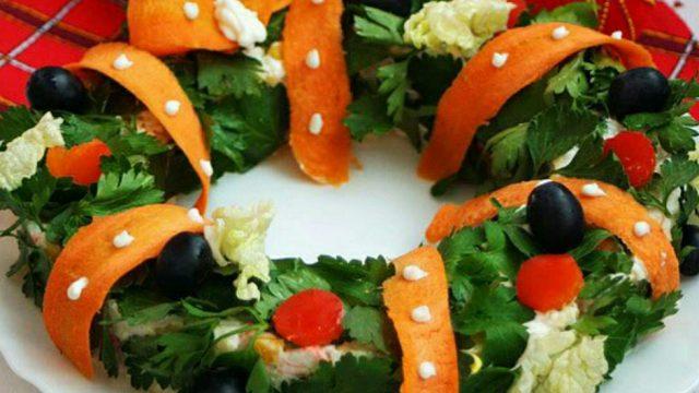 Новый салат для праздника