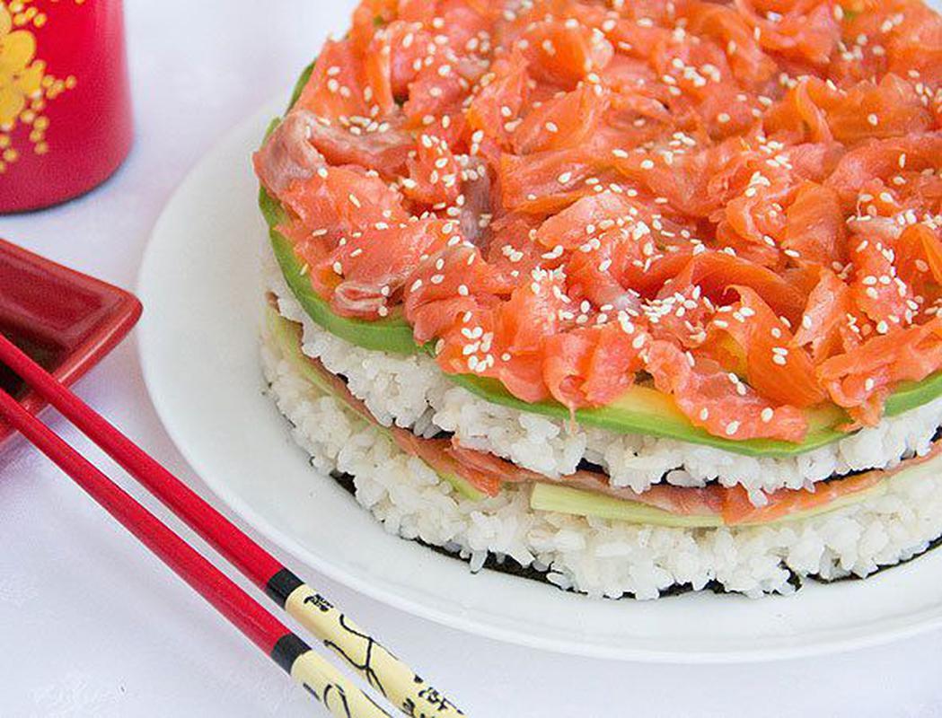 волоски салат суши слоями рецепт с фото секрет, что