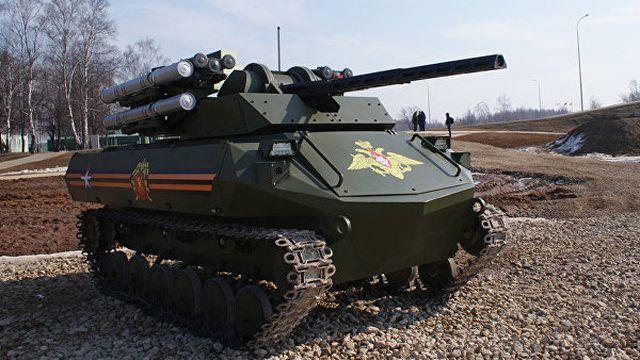 Американцы признали российский танк «Уран-9» предвестником будущего