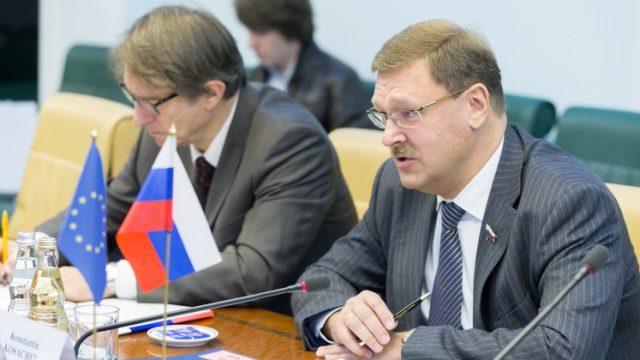 Сенатор Косачев обвинил Европарламент в спекуляции