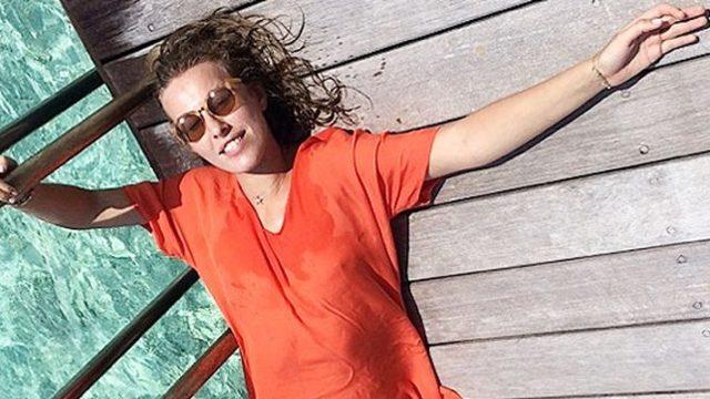 Ксения Собчак показала фото с отдыха на Мальдивах
