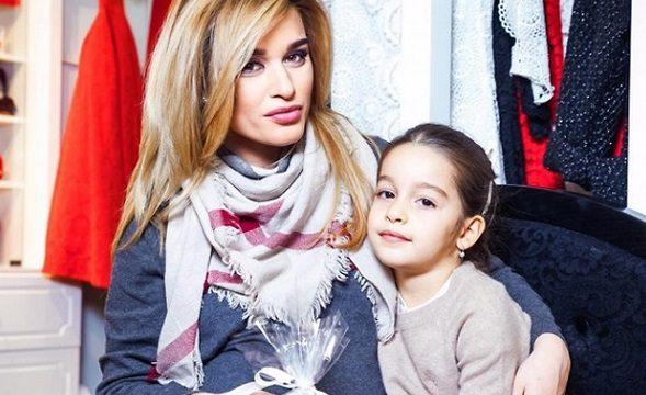 Ксения Бородина назвала дочку греческим именем