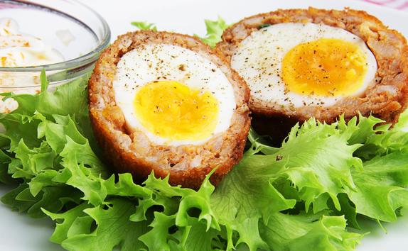 Рецепт дня: яйцо по-шотландски