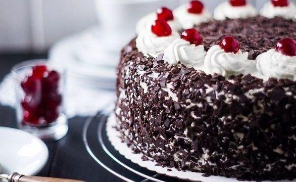 Божественно вкусный торт «Черный лес»