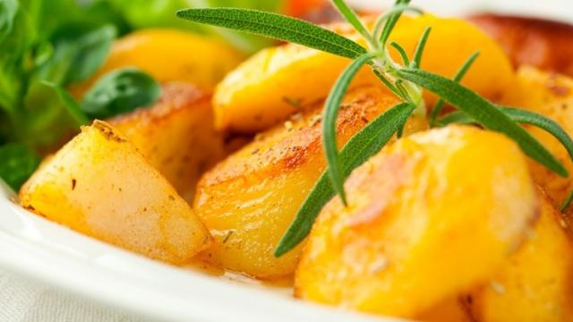 «Отмороженная» картошка. Необычный рецепт картошки в духовке