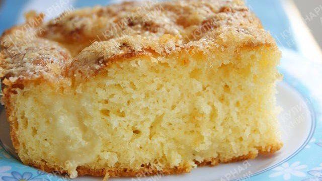 Рассыпчатый пирог из сахара