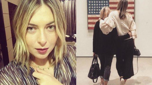 Марию Шарапову и ее маму раскритиковали за фото с американским флагом